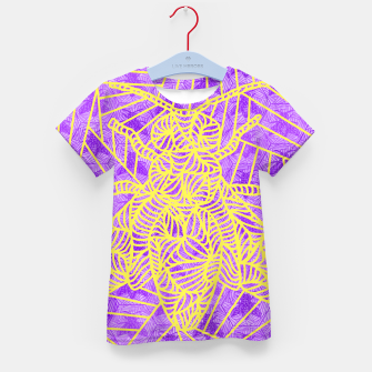 Thumbnail image of be purple! Kid's T-shirt, Live Heroes