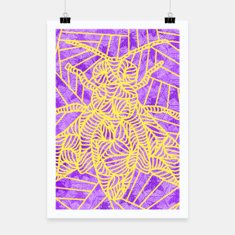 Thumbnail image of be purple! Poster, Live Heroes
