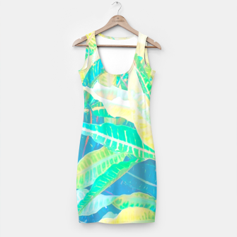 Thumbnail image of tropical croton leaves 3 Simple Dress, Live Heroes