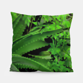 Thumbnail image of Vivid Tropical Design Pillow, Live Heroes