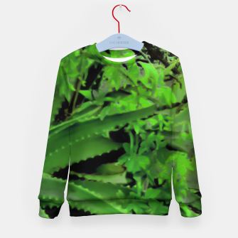 Thumbnail image of Vivid Tropical Design Kid's Sweater, Live Heroes