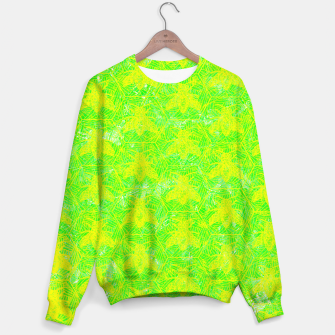 Thumbnail image of be green! Sweater, Live Heroes