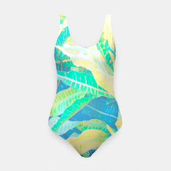 Thumbnail image of tropical croton leaves 3 Swimsuit, Live Heroes