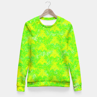 Thumbnail image of be green! Fitted Waist Sweater, Live Heroes