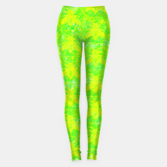 Thumbnail image of be green! Leggings, Live Heroes