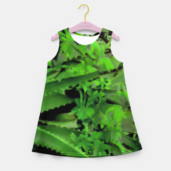 Thumbnail image of Vivid Tropical Design Girl's Summer Dress, Live Heroes