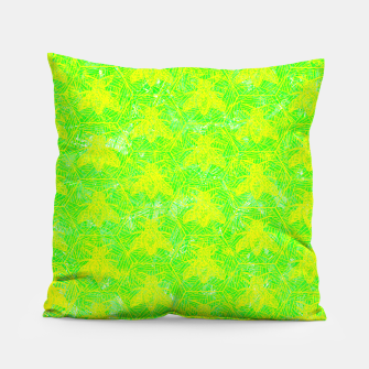 Thumbnail image of be green! Pillow, Live Heroes