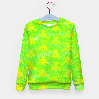 Thumbnail image of be green! Kid's Sweater, Live Heroes