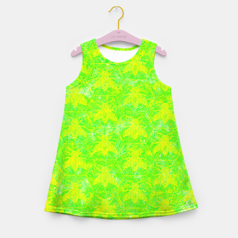 Thumbnail image of be green! Girl's Summer Dress, Live Heroes