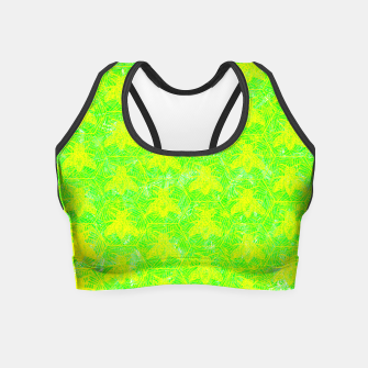 Thumbnail image of be green! Crop Top, Live Heroes