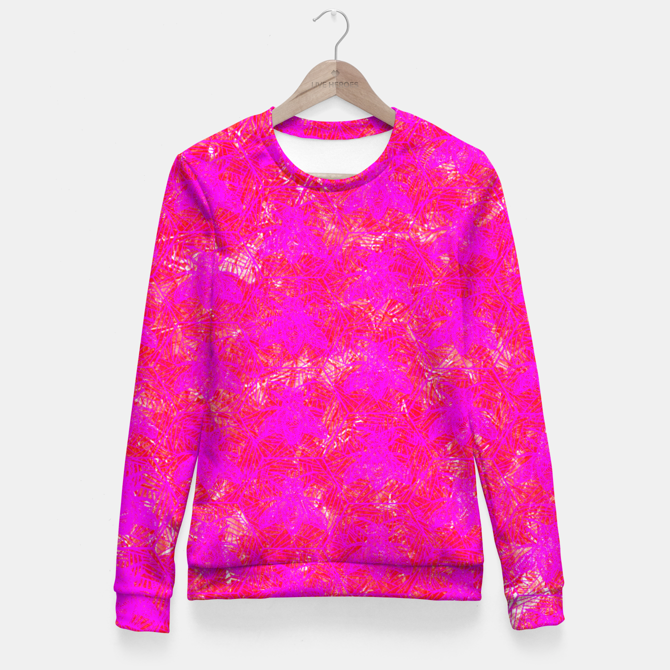 Image of be pink! Fitted Waist Sweater - Live Heroes