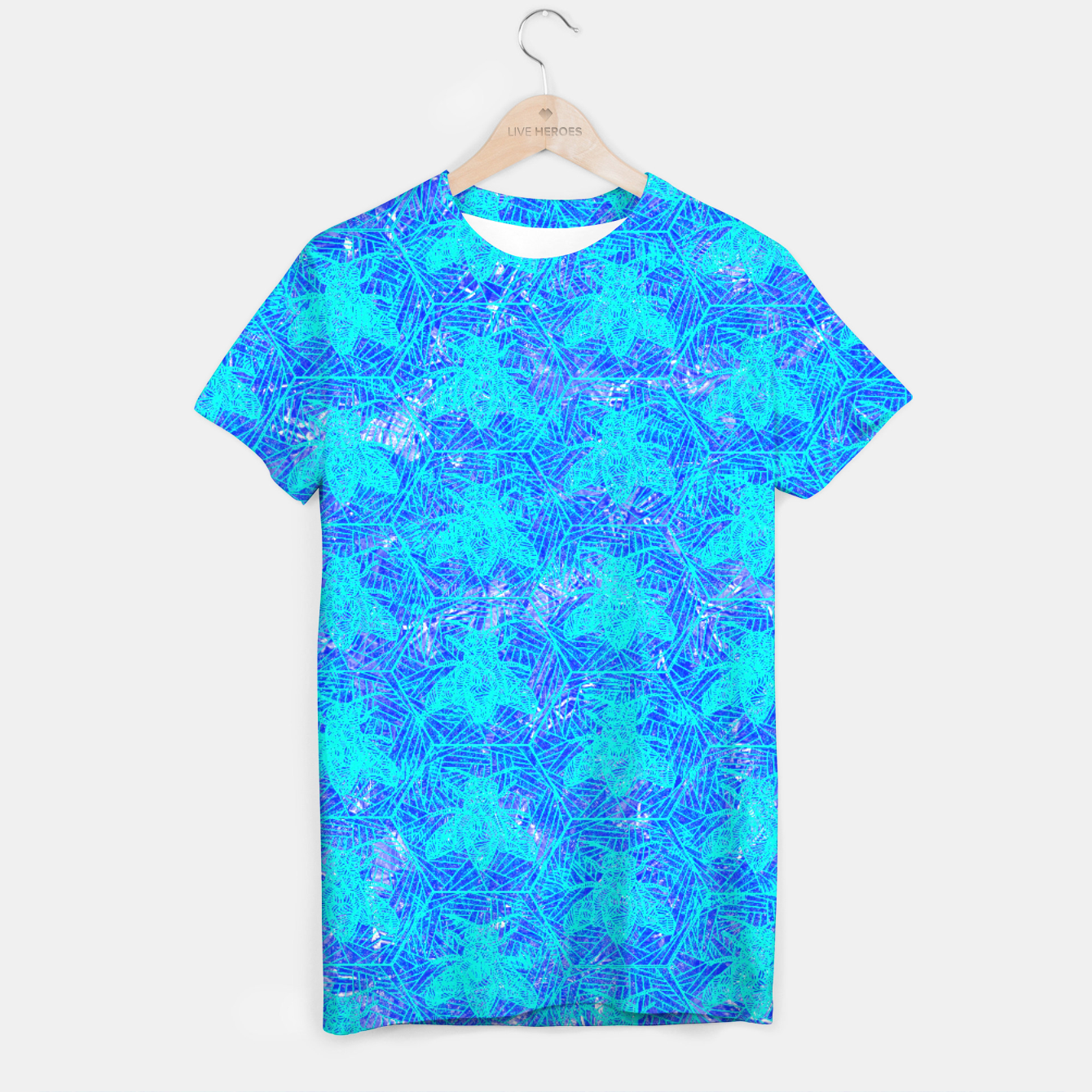 Image of bee blue! T-shirt - Live Heroes