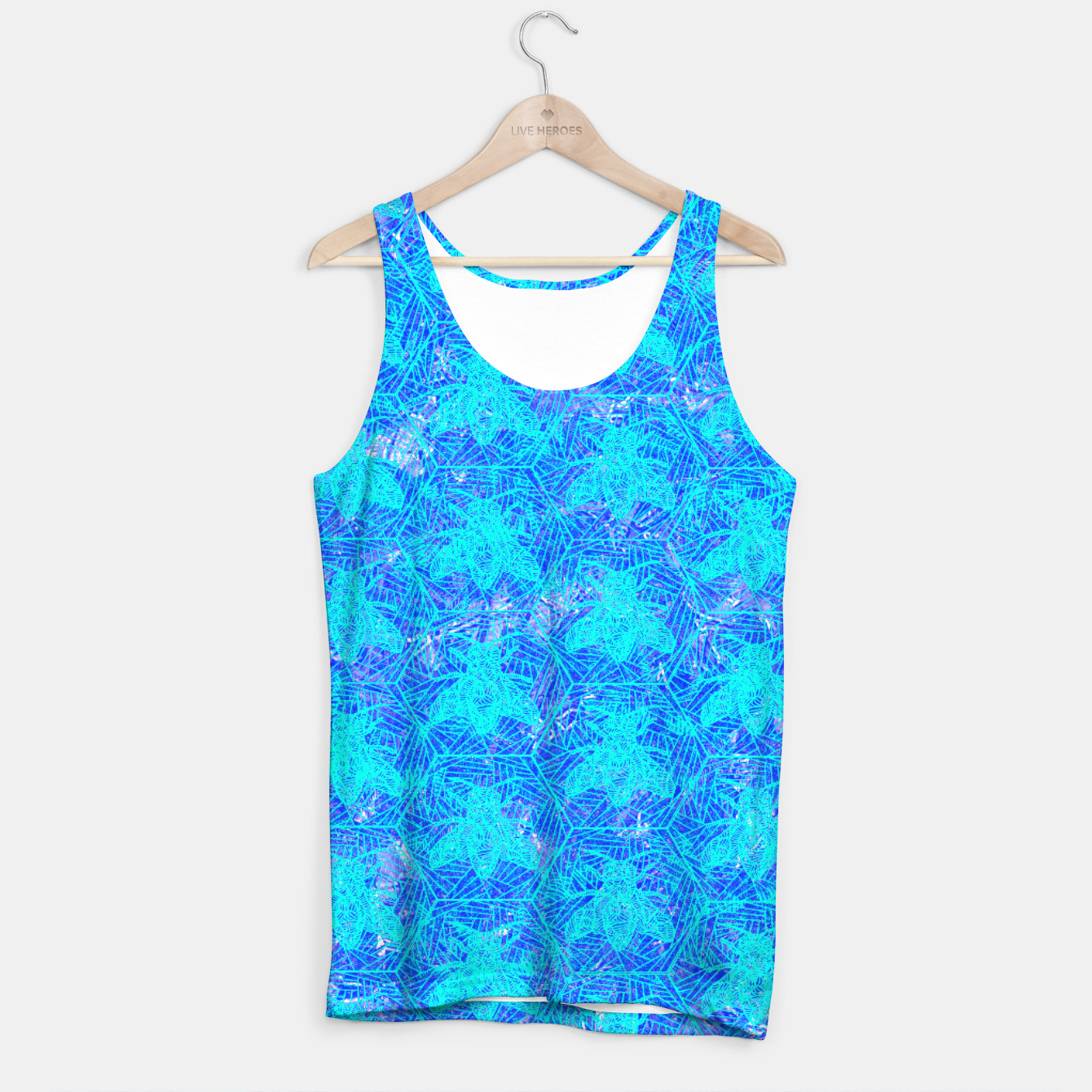 Image of bee blue! Tank Top - Live Heroes