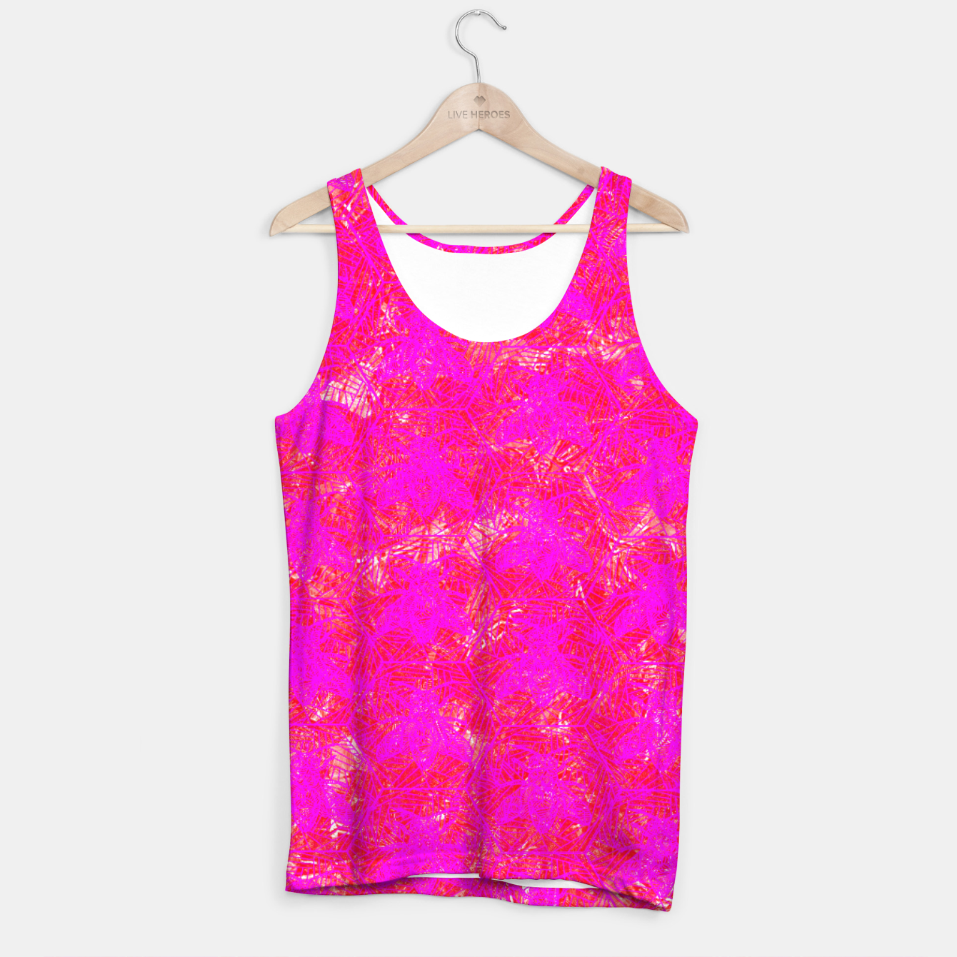 Image of be pink! Tank Top - Live Heroes