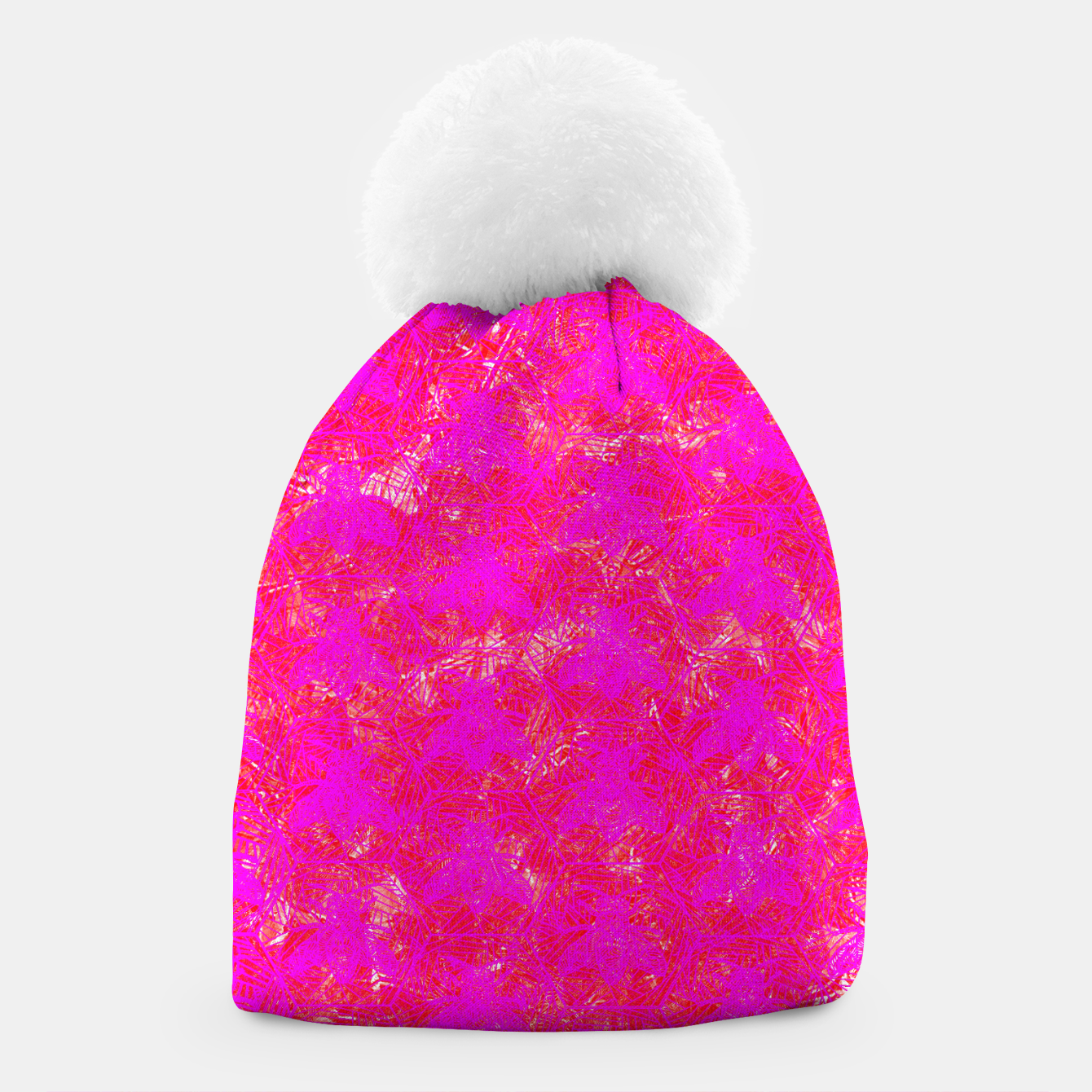 Image of be pink! Beanie - Live Heroes