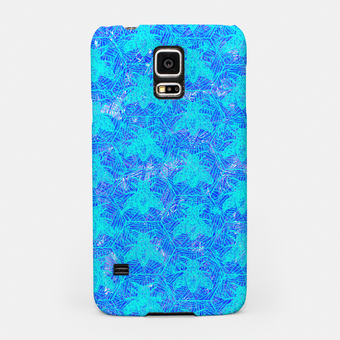 Image of bee blue! Samsung Case - Live Heroes