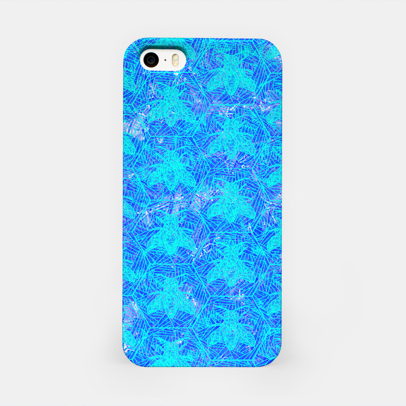Image of bee blue! iPhone Case - Live Heroes