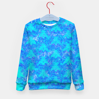 Thumbnail image of bee blue! Kid's Sweater, Live Heroes