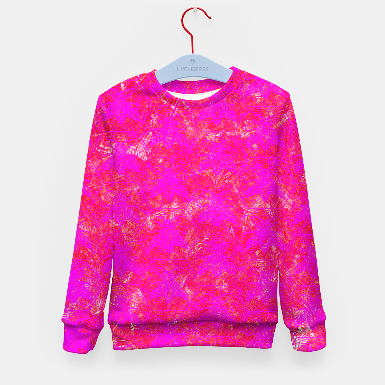 Image of be pink! Kid's Sweater - Live Heroes
