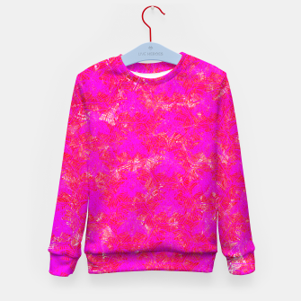 Thumbnail image of be pink! Kid's Sweater, Live Heroes