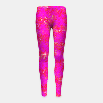 be pink! Girl's Leggings thumbnail image