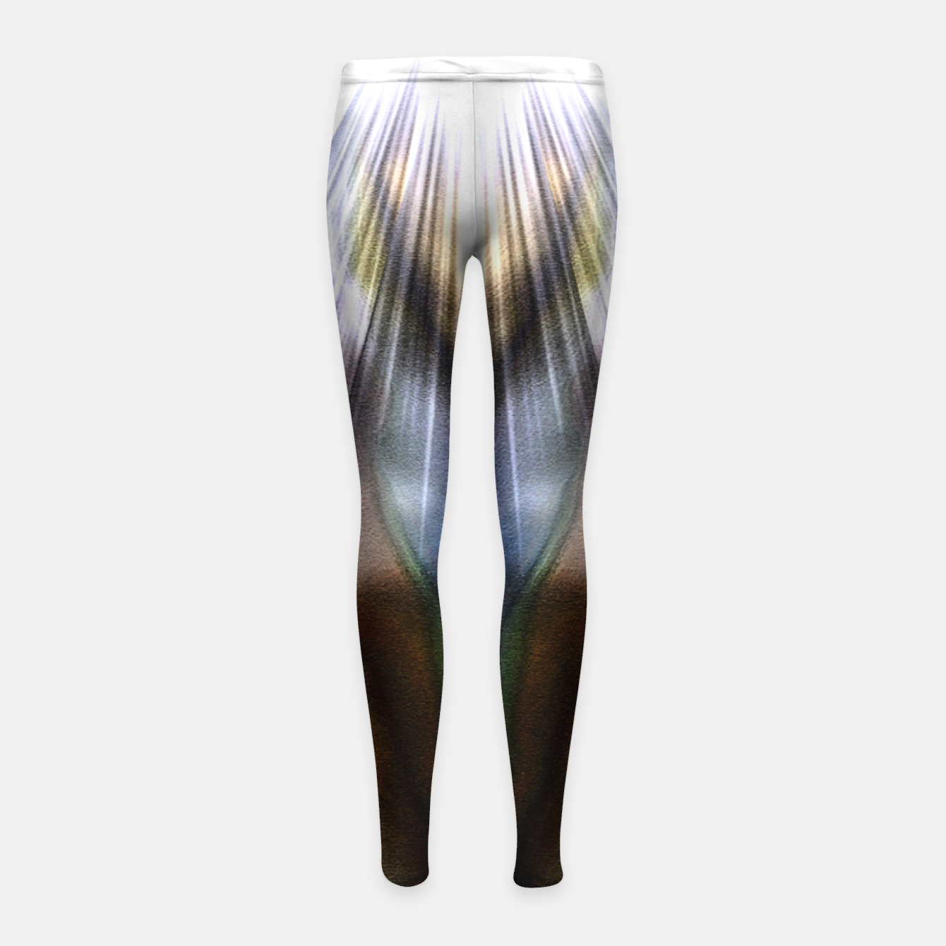 Image of Forms Of Color Txtr Girl's Leggings - Live Heroes