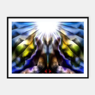 Forms Of Color Txtr Framed poster thumbnail image
