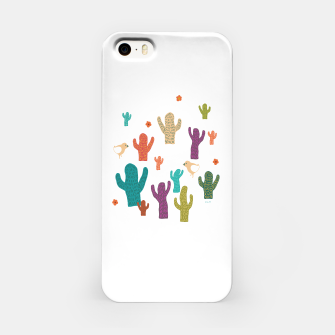 Miniature de image de cactus friends iPhone Case, Live Heroes