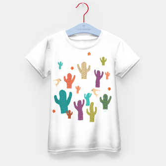 Miniature de image de cactus friends Kid's T-shirt, Live Heroes