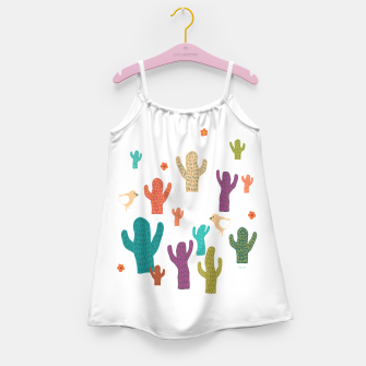 Miniature de image de cactus friends Girl's Dress, Live Heroes
