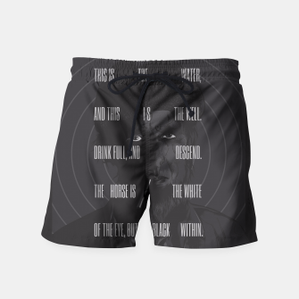 Thumbnail image of Twin Peaks Swim Shorts, Live Heroes