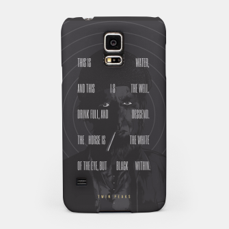 Thumbnail image of Twin Peaks Samsung Case, Live Heroes