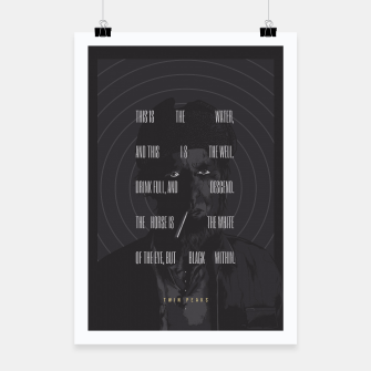 Thumbnail image of Twin Peaks Poster, Live Heroes