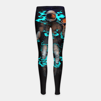 Thumbnail image of STELLAR Girl's Leggings, Live Heroes