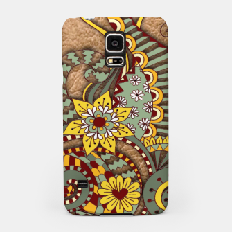 Thumbnail image of I love coffee Doodle Art Samsung Case, Live Heroes