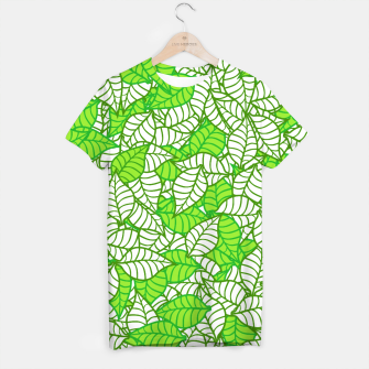 Thumbnail image of A New Leaf GREEN T-shirt, Live Heroes