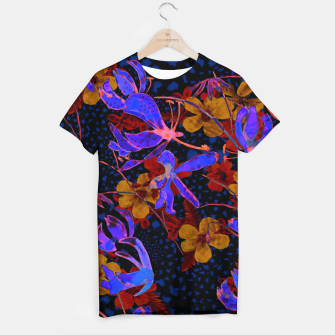 Thumbnail image of Bright floral T-shirt, Live Heroes