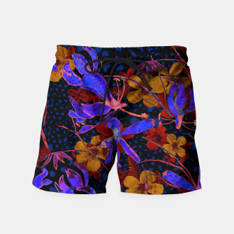 Thumbnail image of Bright floral Swim Shorts, Live Heroes