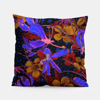 Thumbnail image of Bright floral Pillow, Live Heroes
