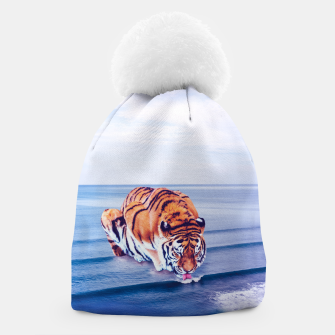 Thumbnail image of Tiger Wave Beanie, Live Heroes