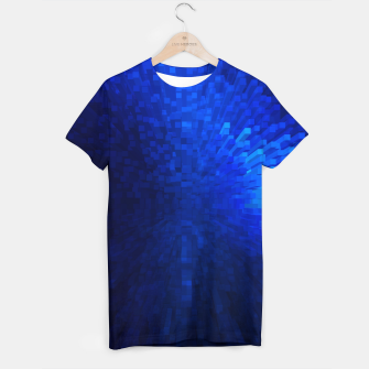 Thumbnail image of Blue Cube Blast T-shirt, Live Heroes