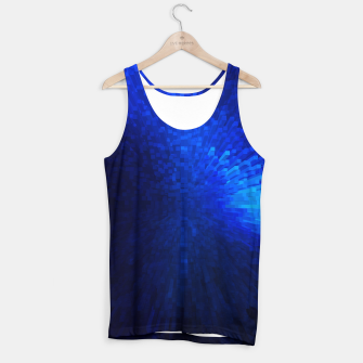 Thumbnail image of Blue Cube Blast Tank Top, Live Heroes