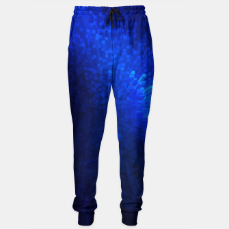 Thumbnail image of Blue Cube Blast Sweatpants, Live Heroes