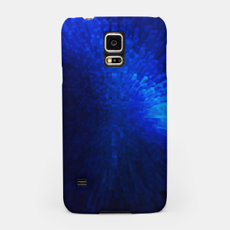Thumbnail image of Blue Cube Blast Samsung Case, Live Heroes