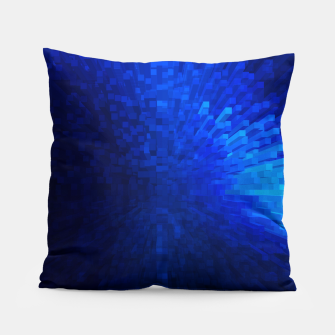 Thumbnail image of Blue Cube Blast Pillow, Live Heroes