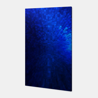 Thumbnail image of Blue Cube Blast Canvas, Live Heroes