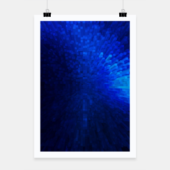 Thumbnail image of Blue Cube Blast Poster, Live Heroes