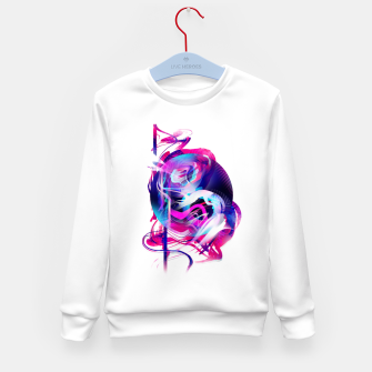 Miniaturka Abstraction Kid's Sweater, Live Heroes