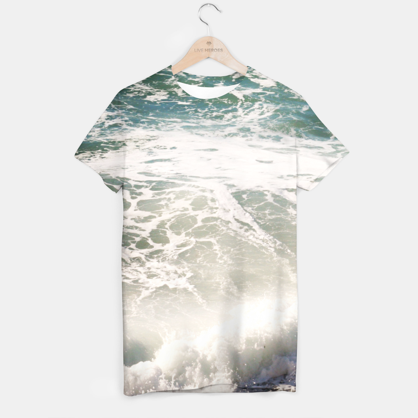 Image of Sea T-shirt - Live Heroes