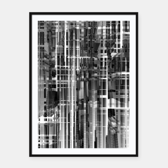 Thumbnail image of Construction Framed poster, Live Heroes